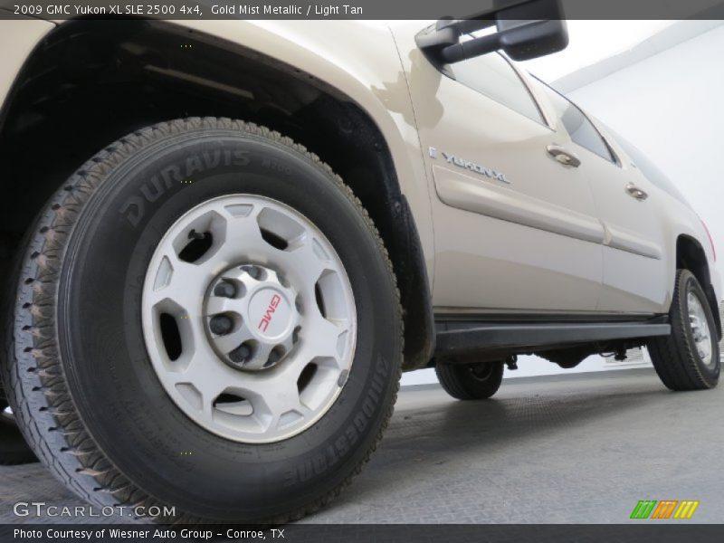 2009 Yukon XL SLE 2500 4x4 Wheel