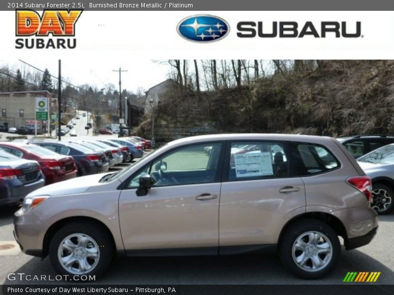 2014 Subaru Forester 2 5i In Burnished Bronze Metallic