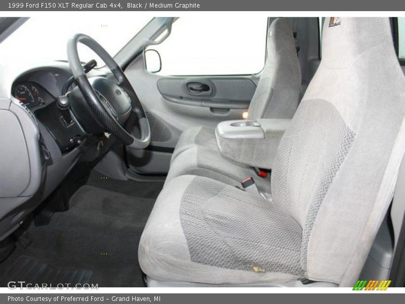 1999 F150 XLT Regular Cab 4x4 Medium Graphite Interior