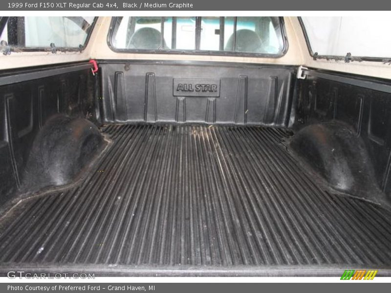 Black / Medium Graphite 1999 Ford F150 XLT Regular Cab 4x4