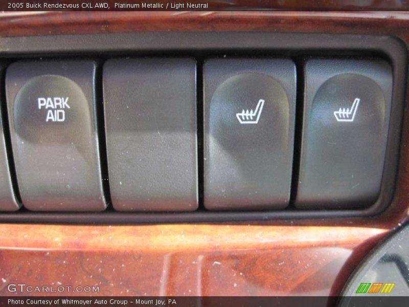 Platinum Metallic / Light Neutral 2005 Buick Rendezvous CXL AWD
