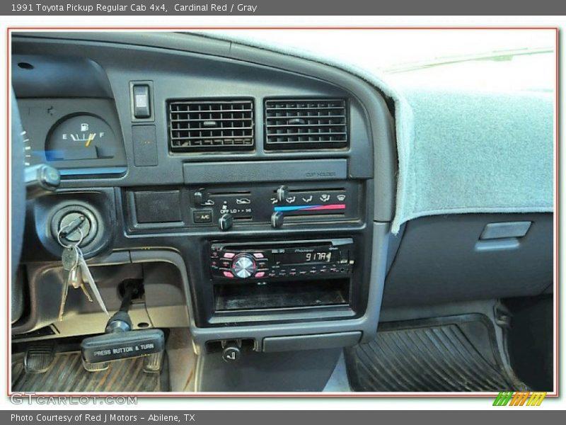 Controls of 1991 Pickup Regular Cab 4x4