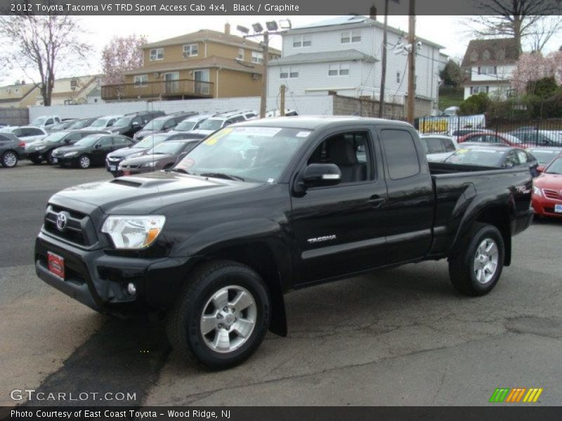 2012 toyota tacoma v6 trd sport access cab 4x4 in black photo no 79819934. Black Bedroom Furniture Sets. Home Design Ideas