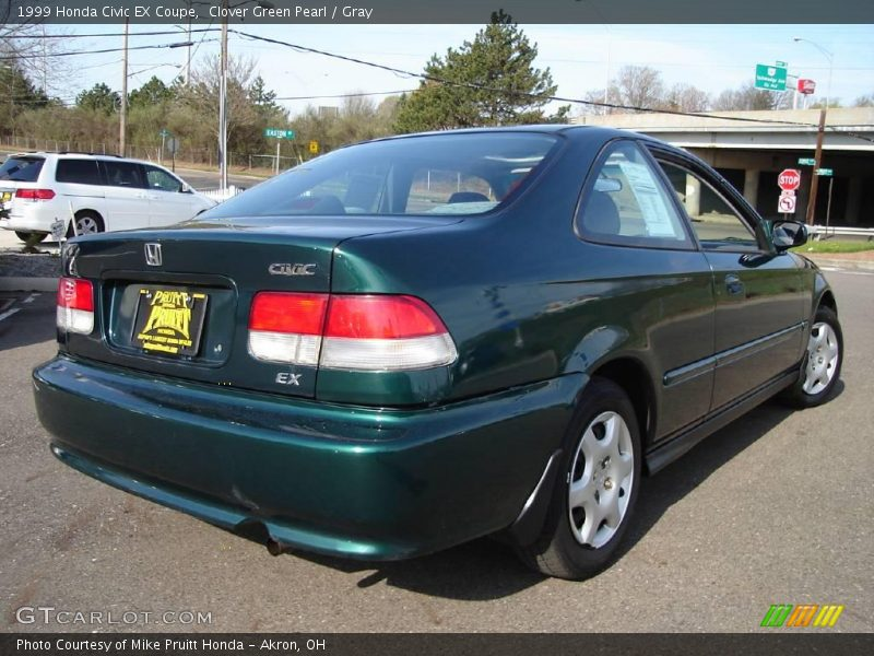 1999 honda civic ex coupe in clover green pearl photo no. Black Bedroom Furniture Sets. Home Design Ideas