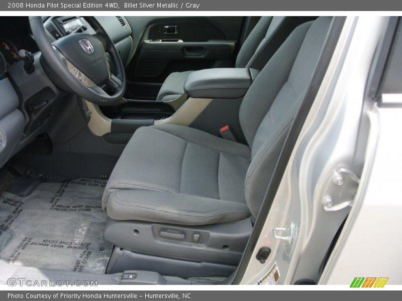 Billet Silver Metallic / Gray 2008 Honda Pilot Special Edition 4WD