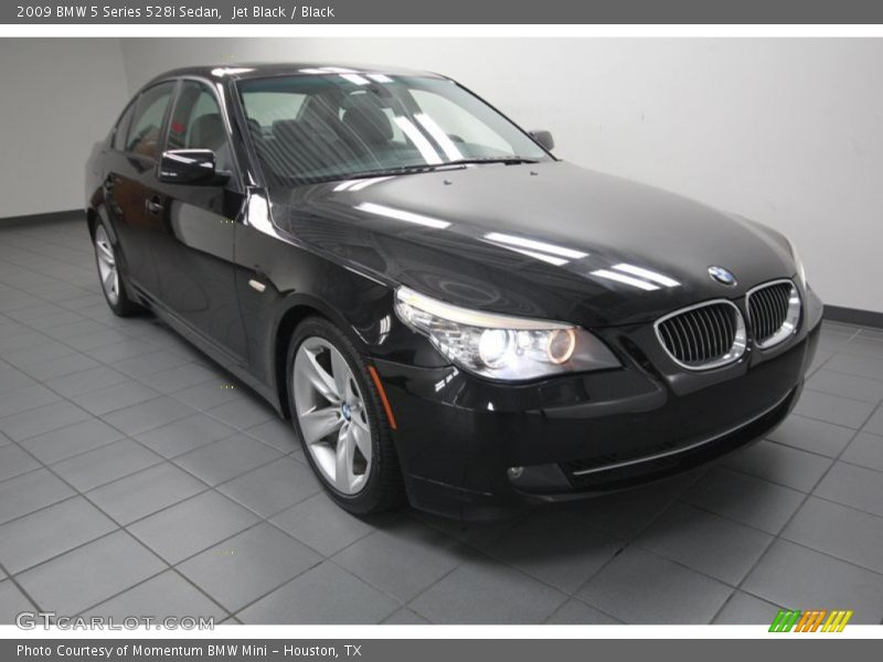 2009 bmw 5 series 528i sedan in jet black photo no. Black Bedroom Furniture Sets. Home Design Ideas