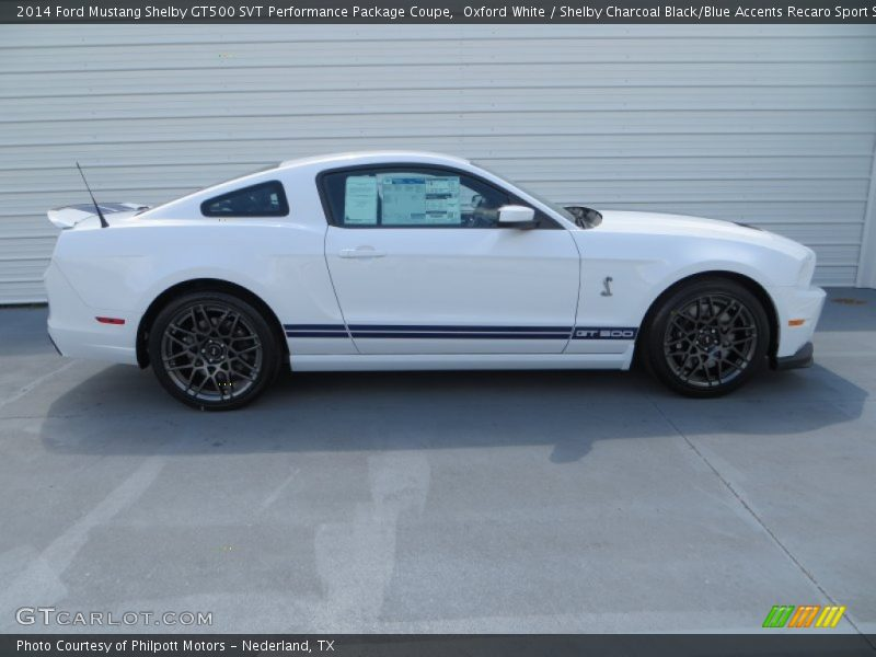 2014 ford mustang shelby gt500 svt performance package coupe in oxford white photo no 80302158. Black Bedroom Furniture Sets. Home Design Ideas