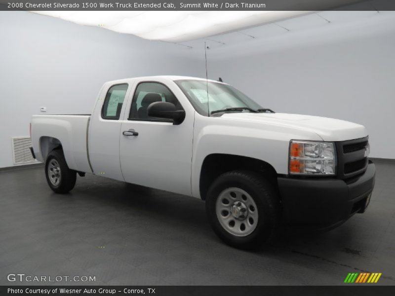 2008 chevrolet silverado 1500 work truck extended cab in summit white photo no 80398022. Black Bedroom Furniture Sets. Home Design Ideas