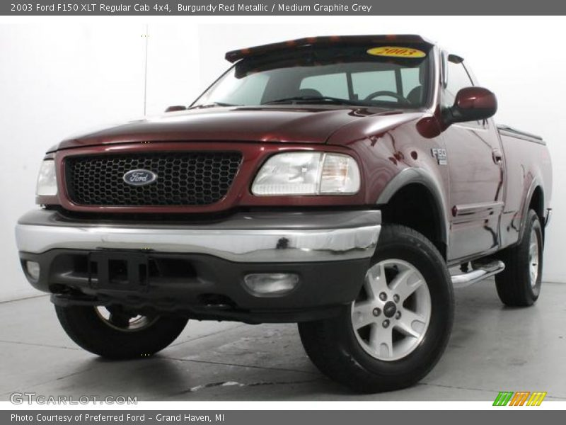 Front 3/4 View of 2003 F150 XLT Regular Cab 4x4