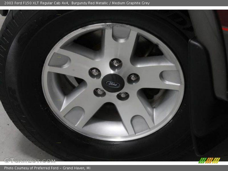 2003 F150 XLT Regular Cab 4x4 Wheel