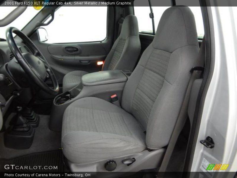 2001 F150 XLT Regular Cab 4x4 Medium Graphite Interior