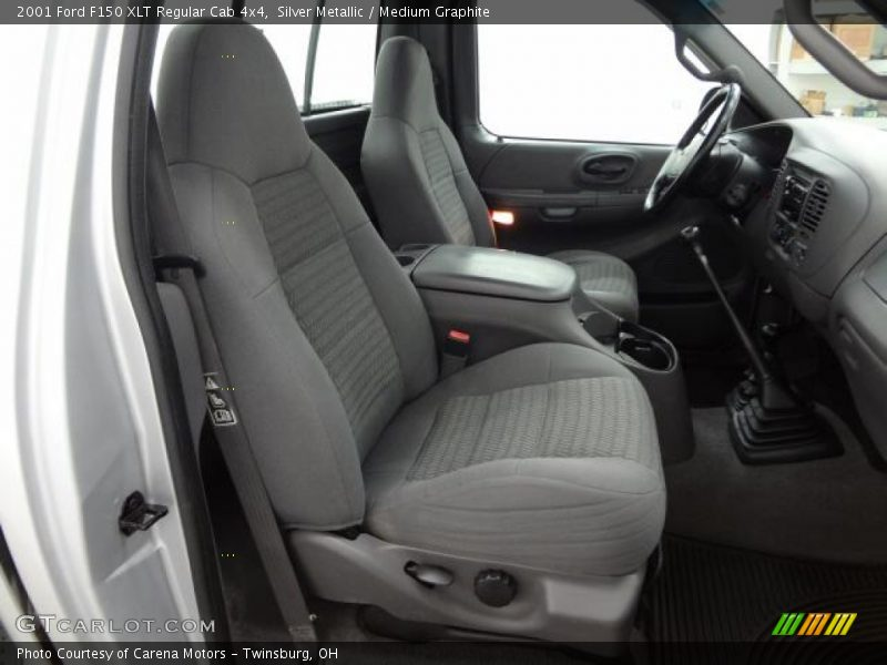 Front Seat of 2001 F150 XLT Regular Cab 4x4