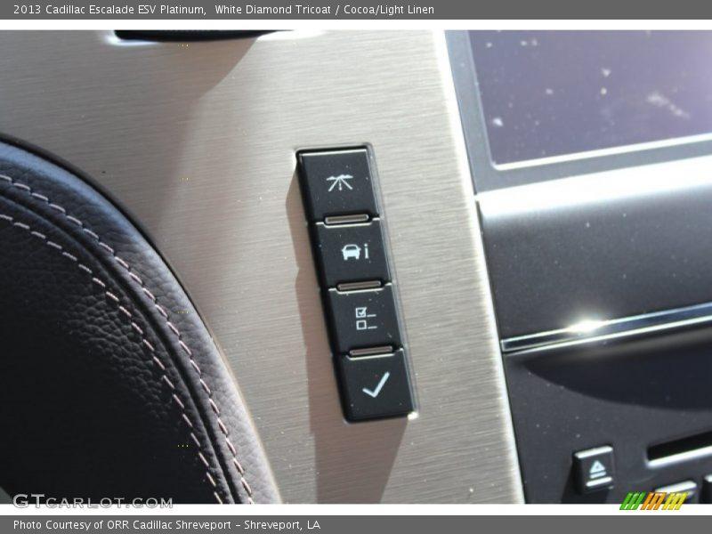 Controls of 2013 Escalade ESV Platinum