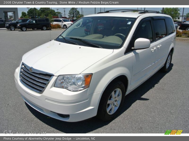 Front 3 4 view of 2008 town country touring photo no for G stone motors used cars