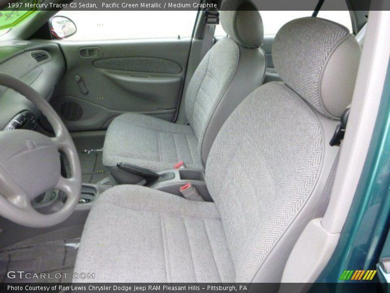 1997 Tracer GS Sedan Medium Graphite Interior