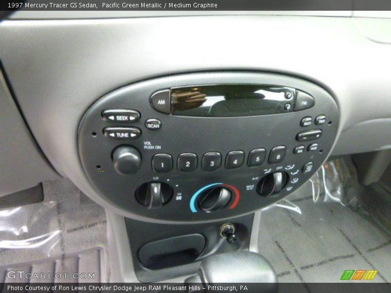 Controls of 1997 Tracer GS Sedan