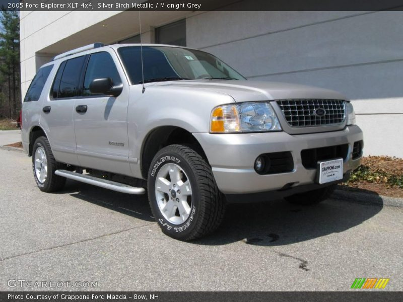2005 ford explorer xlt 4x4 in silver birch metallic photo. Black Bedroom Furniture Sets. Home Design Ideas