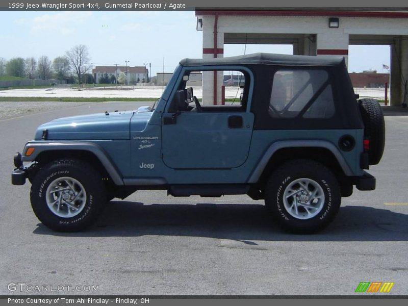 1999 jeep wrangler sport 4x4 in gunmetal pearlcoat photo. Black Bedroom Furniture Sets. Home Design Ideas