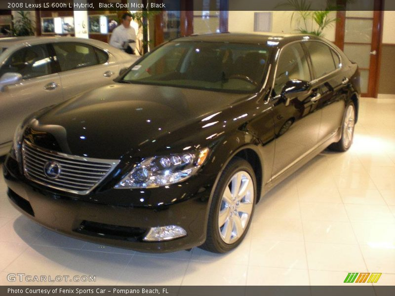 2008 lexus ls 600h l hybrid in black opal mica photo no. Black Bedroom Furniture Sets. Home Design Ideas