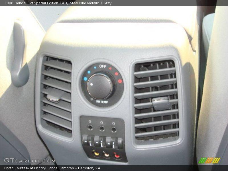 Steel Blue Metallic / Gray 2008 Honda Pilot Special Edition 4WD