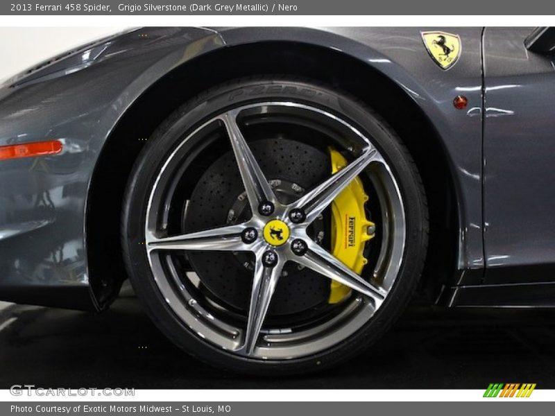 2013 458 Spider Wheel