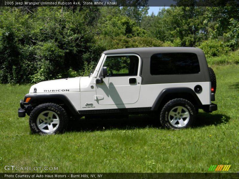 2005 jeep wrangler unlimited rubicon 4x4 in stone white photo no 82626599. Black Bedroom Furniture Sets. Home Design Ideas