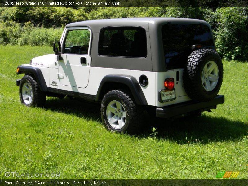 2005 jeep wrangler unlimited rubicon 4x4 in stone white photo no 82626650. Black Bedroom Furniture Sets. Home Design Ideas