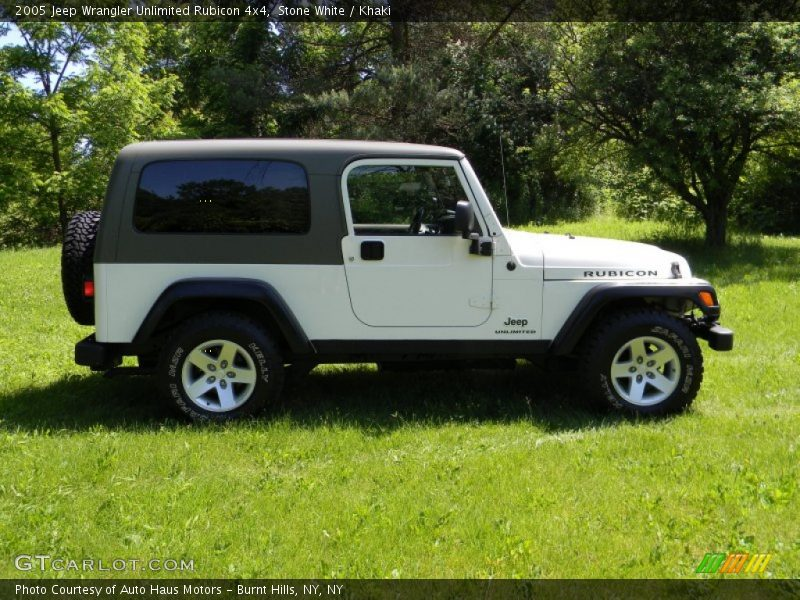2005 jeep wrangler unlimited rubicon 4x4 in stone white photo no 82626800. Black Bedroom Furniture Sets. Home Design Ideas