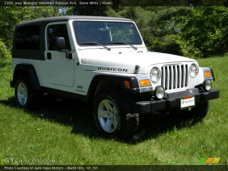 2005 jeep wrangler unlimited rubicon 4x4 in stone white photo no 82626849. Black Bedroom Furniture Sets. Home Design Ideas