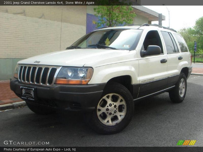 2001 jeep grand cherokee laredo 4x4 in stone white photo no 8274506. Cars Review. Best American Auto & Cars Review