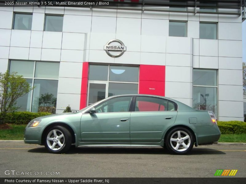 2005 Nissan Altima 3 5 Se In Mystic Emerald Green Photo No