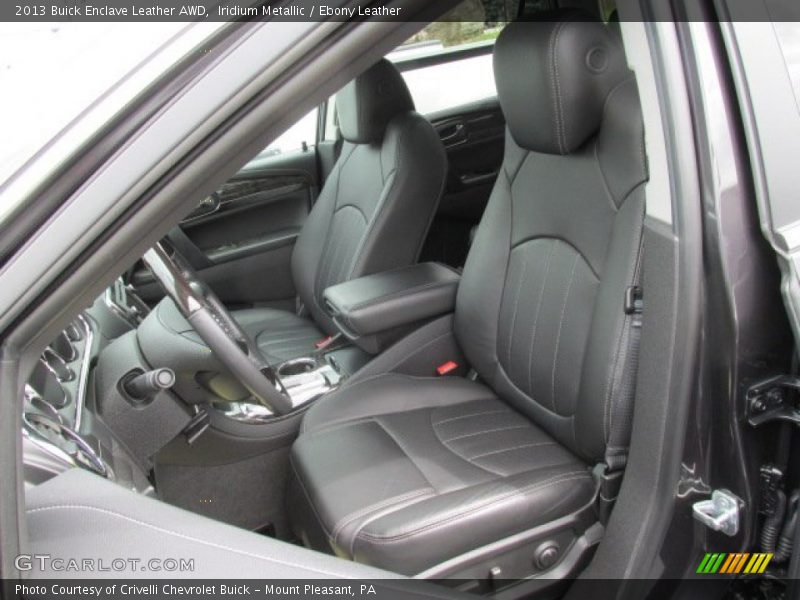 Front Seat of 2013 Enclave Leather AWD