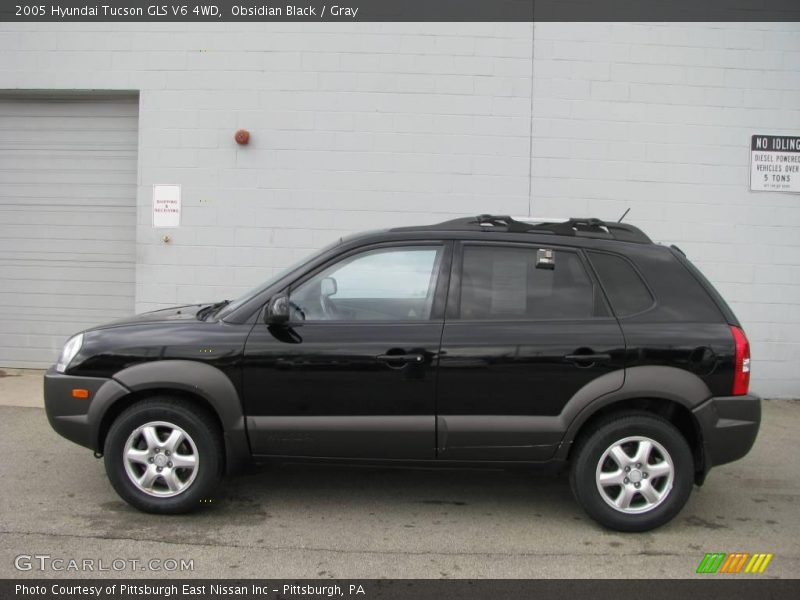 2005 hyundai tucson gls v6 4wd in obsidian black photo no. Black Bedroom Furniture Sets. Home Design Ideas