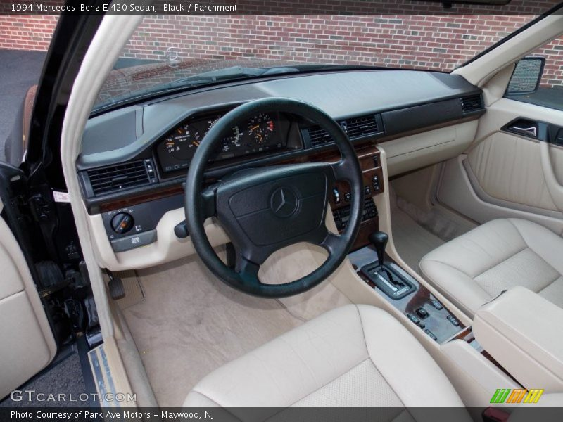 Parchment Interior - 1994 E 420 Sedan