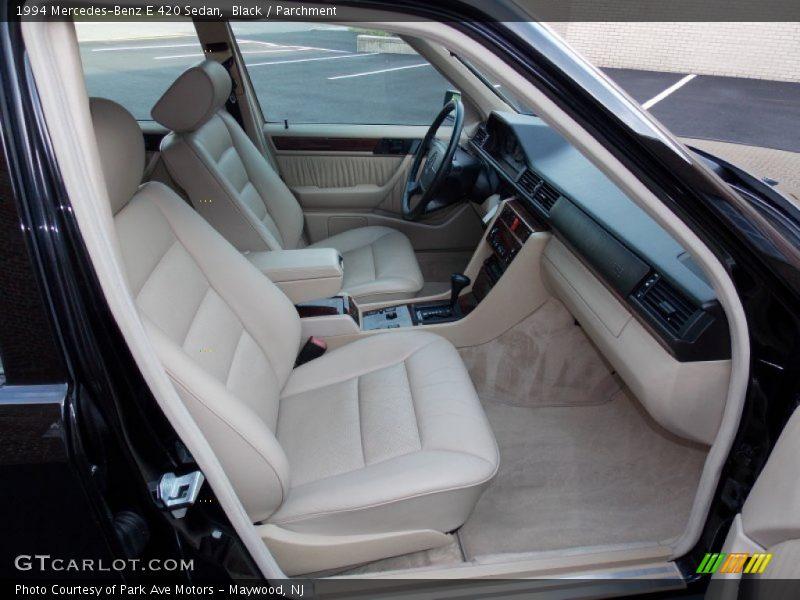 1994 E 420 Sedan Parchment Interior