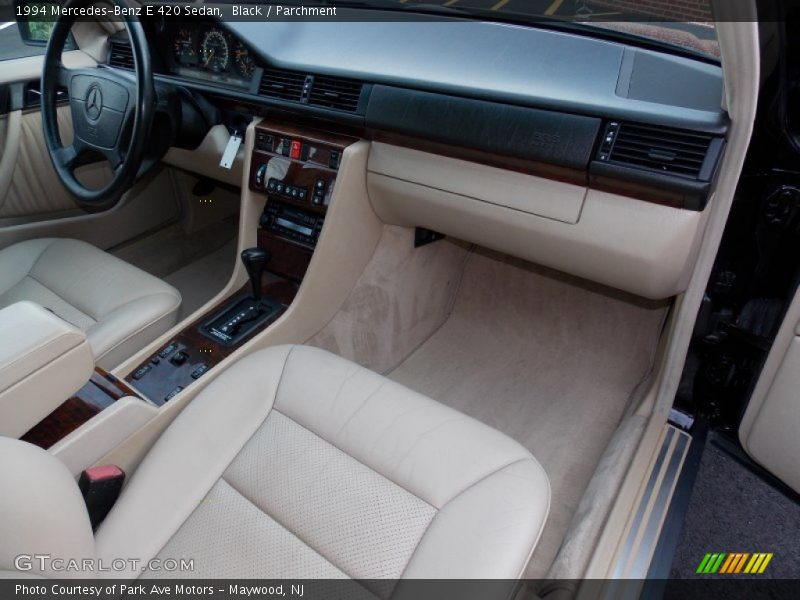 Dashboard of 1994 E 420 Sedan