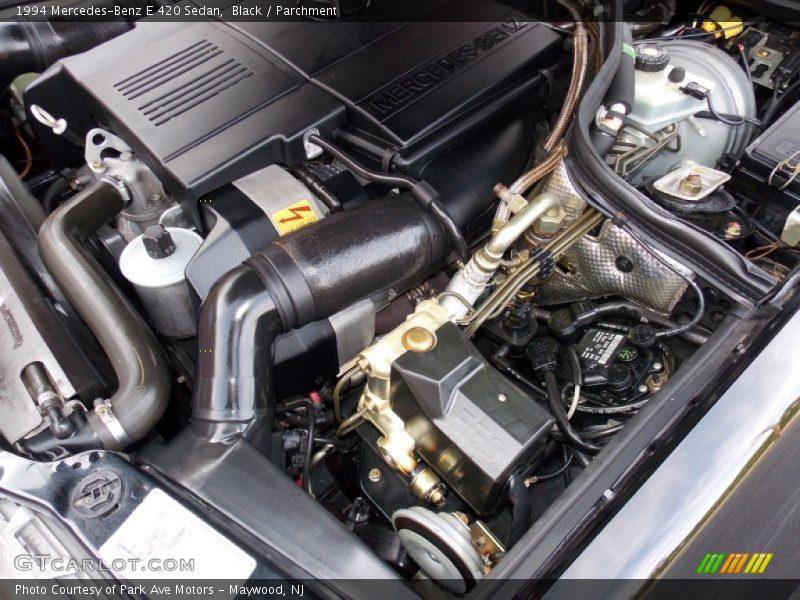1994 E 420 Sedan Engine - 4.2 Liter DOHC 32-Valve V8