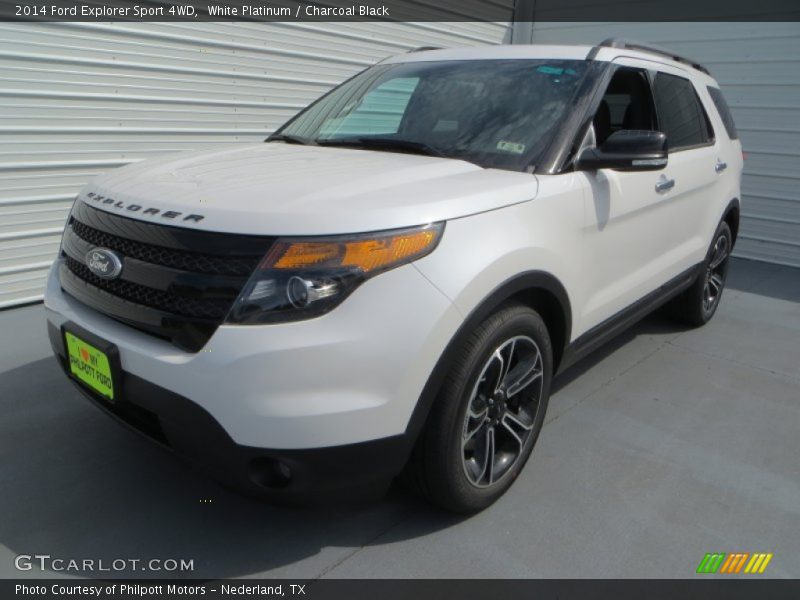 2014 ford explorer white autos post. Black Bedroom Furniture Sets. Home Design Ideas