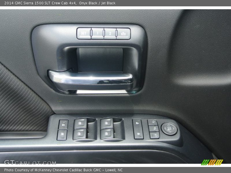 Onyx Black / Jet Black 2014 GMC Sierra 1500 SLT Crew Cab 4x4