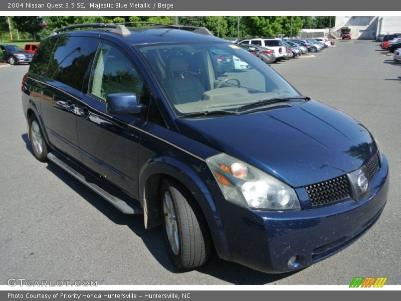 2004 nissan quest 3 5 se in majestic blue metallic photo no 83847546. Black Bedroom Furniture Sets. Home Design Ideas