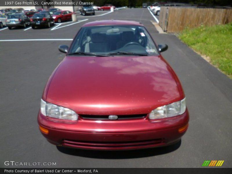 1997 Prizm LSi Canyon Red Metallic