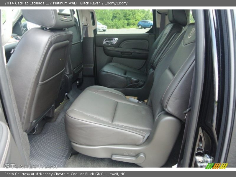 Black Raven / Ebony/Ebony 2014 Cadillac Escalade ESV Platinum AWD