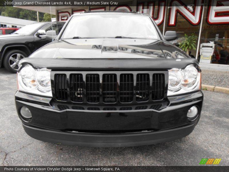 Black / Medium Slate Gray 2006 Jeep Grand Cherokee Laredo 4x4