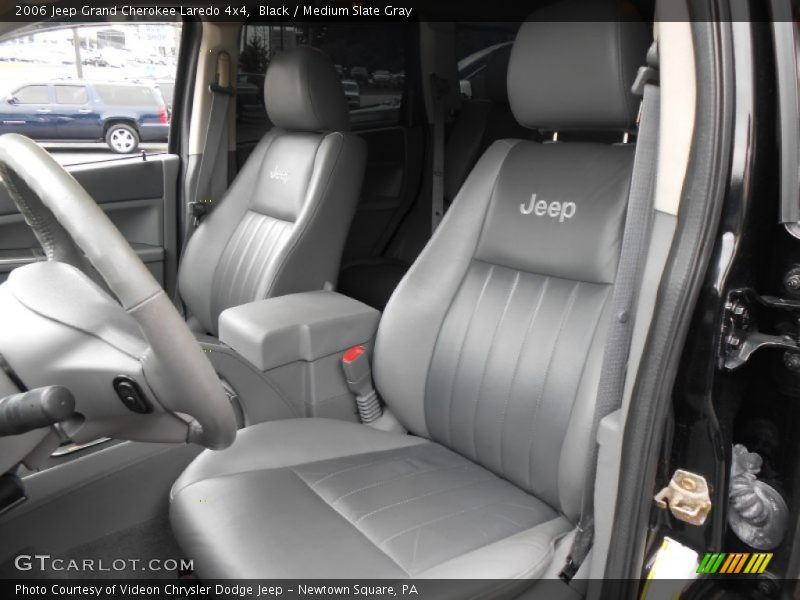 Black / Medium Slate Gray 2006 Jeep Grand Cherokee Laredo 4x4