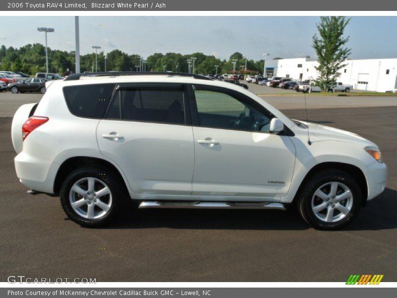 2006 Toyota Rav4 Limited In Blizzard White Pearl Photo No