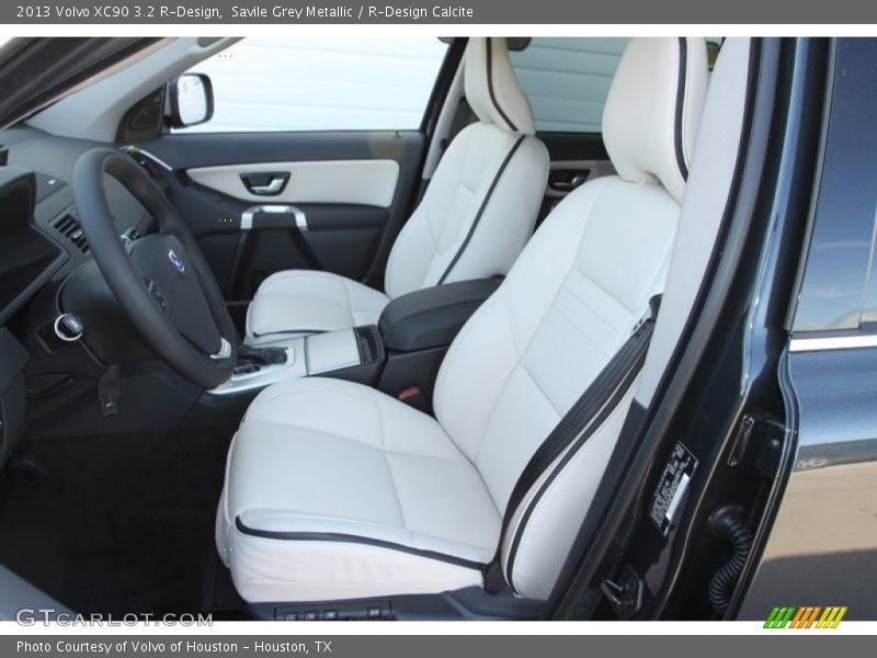 Front Seat of 2013 XC90 3.2 R-Design