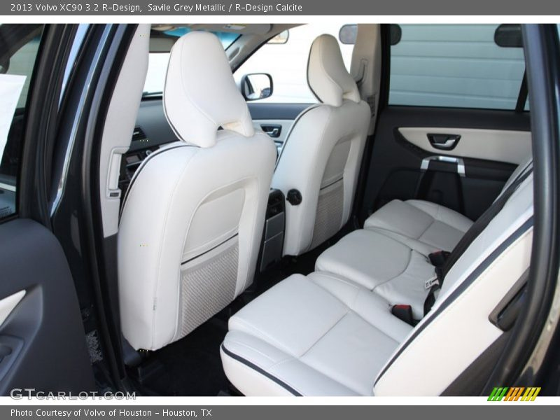 Rear Seat of 2013 XC90 3.2 R-Design