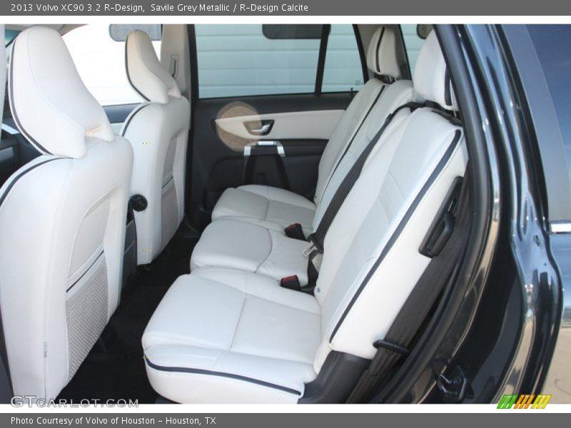 Rear Seat of 2013 XC90 3.2 R-Design