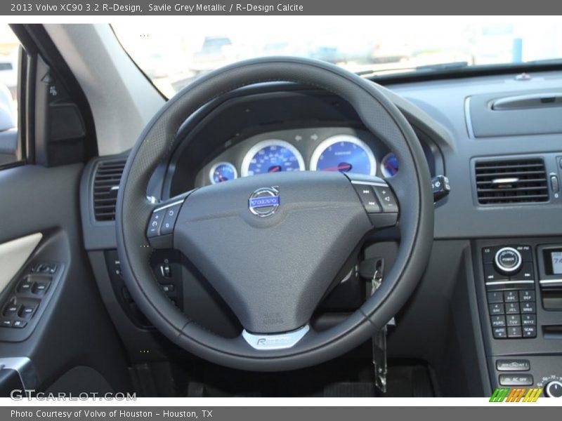 2013 XC90 3.2 R-Design Steering Wheel