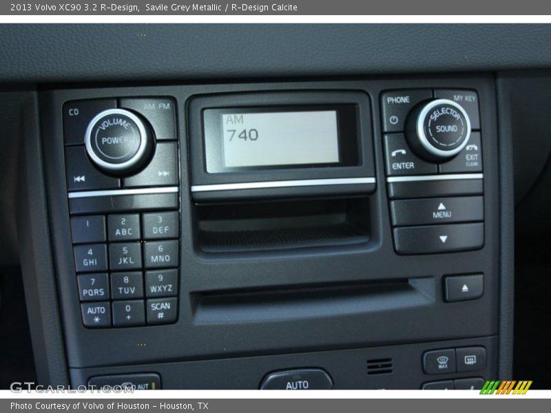 Controls of 2013 XC90 3.2 R-Design